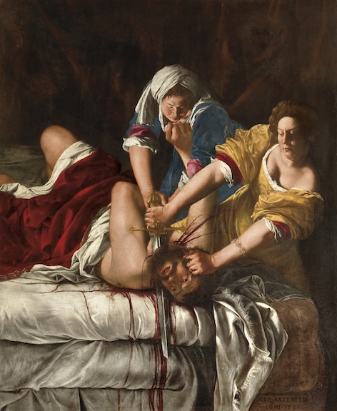 Artemisia Gentileschi Judith Slaying Holofernes-Art Institute of Chicago